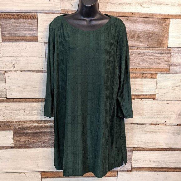 J. Jill Dresses & Skirts - J Jill Green Dress Sz XL
